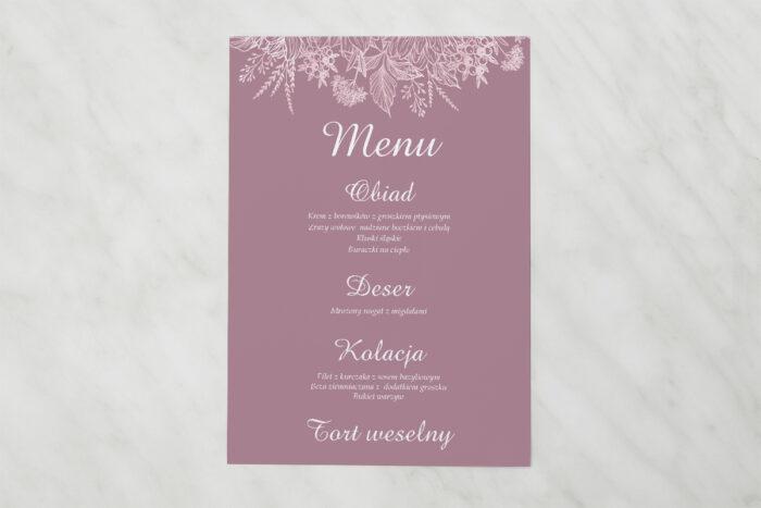 menu-weselne-pasujace-do-zaproszenia-duze-inicjaly-konturowe-kwiaty-papier-matowy