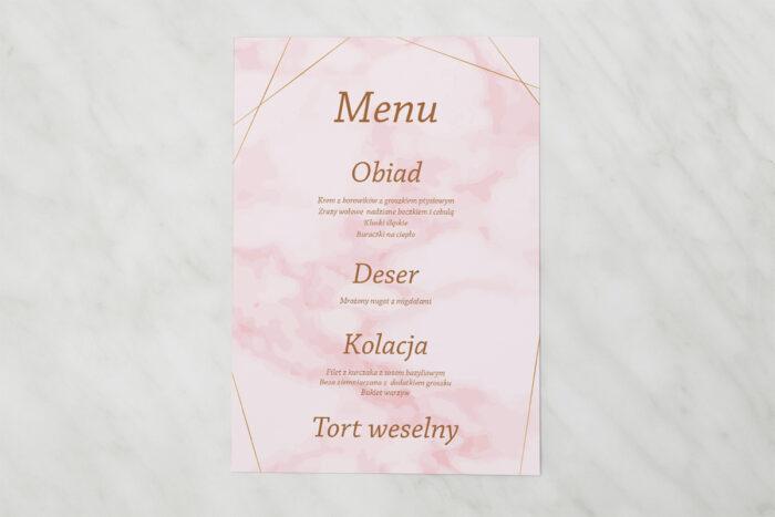menu-weselne-pasujace-do-zaproszenia-kontrastowe-z-nawami-zlota-geometria-rozowy-marmurek-papier-matowy