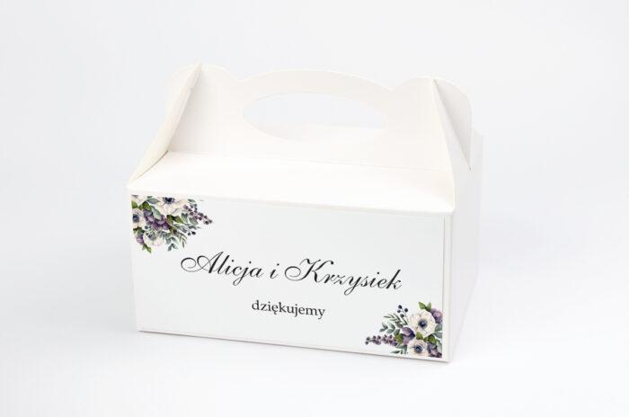 ozdobne-pudelko-na-ciasto-kwiatowe-galazki-bialo-fioletowe-anemony-papier-satynowany-pudelko-