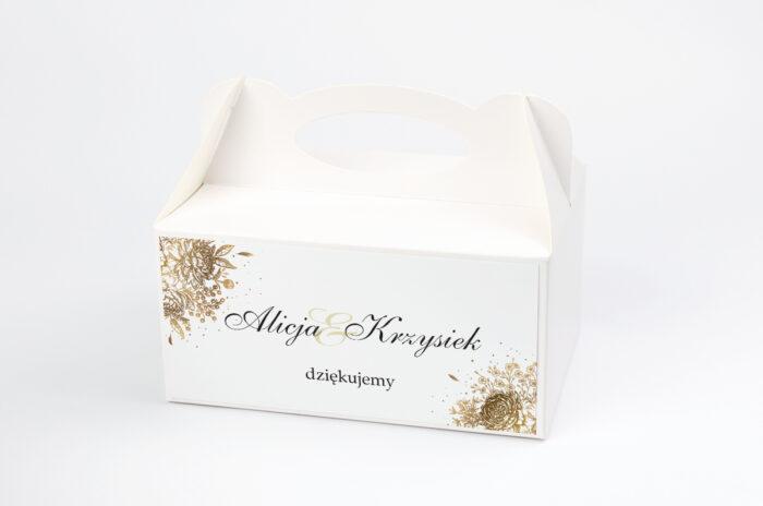 ozdobne-pudelko-na-ciasto-geometryczne-kwiaty-zloty-bukiet-papier-satynowany-pudelko-