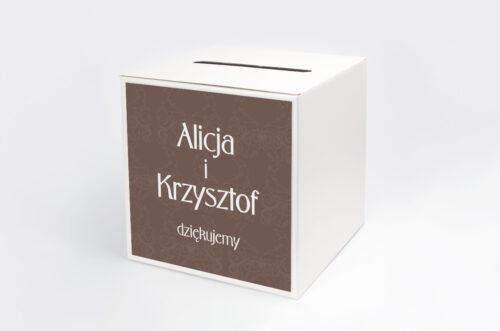 Pudełko na koperty do zaproszenia FotoZaproszenie wzór 2a