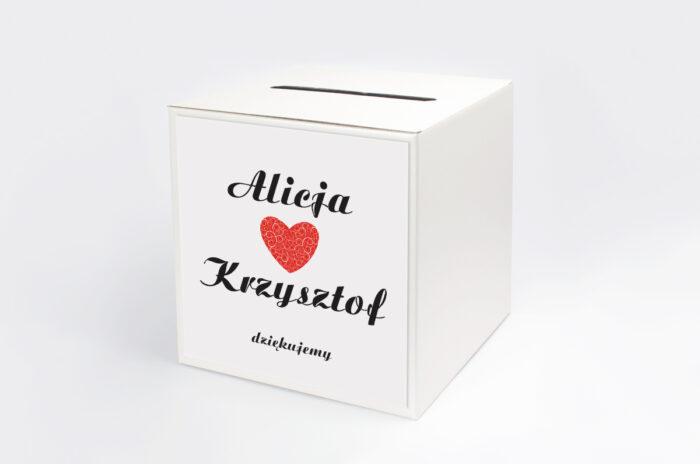 personalizowane-pudelko-na-koperty-do-zaproszenia-vintage-black-white-czerwone-papier-satynowany-pudelko-