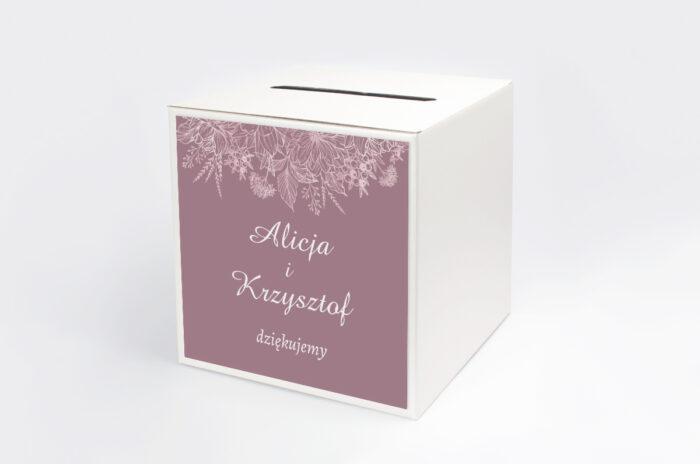 personalizowane-pudelko-na-koperty-duze-inicjaly-konturowe-kwiaty-papier-satynowany-pudelko-