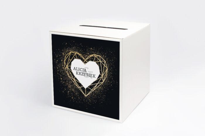personalizowane-pudelko-na-koperty-geometryczne-serce-zloto-papier-satynowany-pudelko-