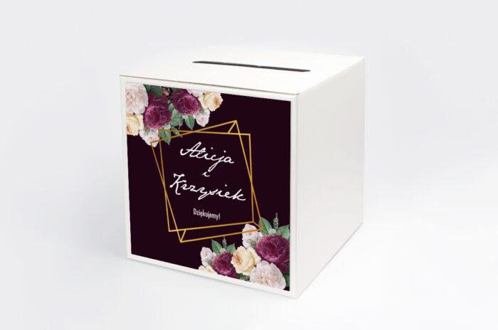 personalizowane-pudelko-na-koperty-kontrastowe-z-kwiatami-kolorowe-roze-papier-satynowany-pudelko-
