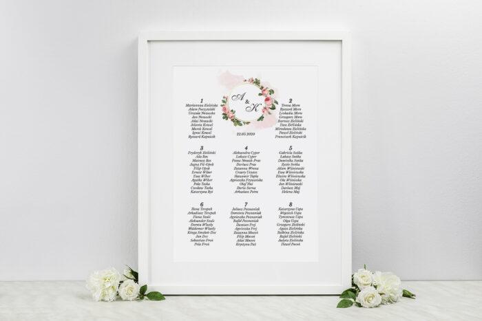 plan-stolow-weselnych-do-zaproszen-geometryczne-ze-zdjeciem-rozowe-rozyczki-dodatki-ramka-papier-matowy