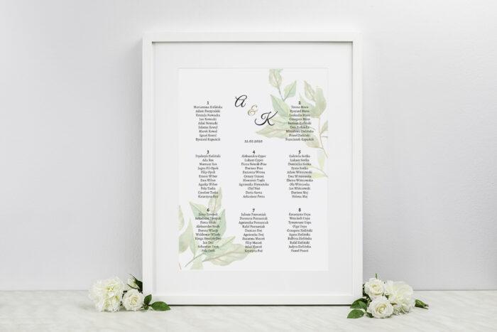 plan-stolow-weselnych-do-zaproszen-botaniczne-jednokartkowe-zielone-liscie-dodatki-ramka-papier-matowy
