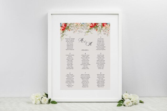 plan-stolow-weselnych-kwiatowe-galazki-biale-kalie-dodatki-ramka-papier-ecruefakturowany