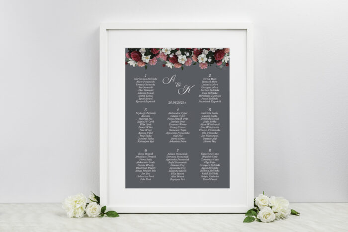 plan-stolow-weselnych-do-zaproszen-kwiatowe-nawy-burgundowy-bukiet-dodatki-ramka-papier-satynowany