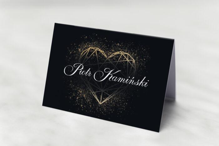 winietka-slubna-do-zaproszenia-geometryczne-serce-zloto-papier-matowy
