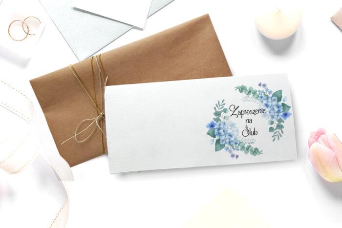 zaproszenie-slubne-A4-ze-zdjeciem-niebieskie-hortensje-front