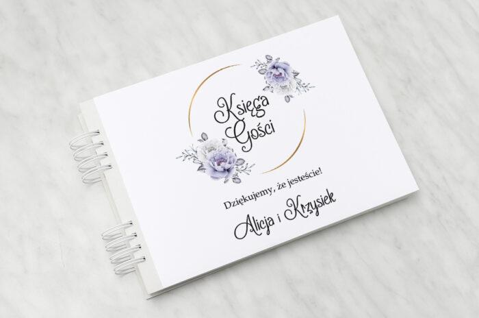 ksiega-gosci-do-zaproszenia-ze-zdjeciem-i-sznurkiem-siwe-kwiaty-na-kole-papier-matowy-dodatki-ksiega-gosci