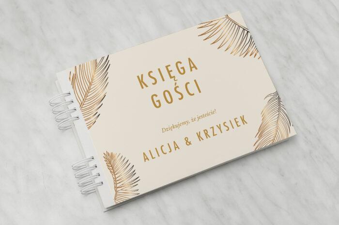 ksiega-gosci-slubnych-geometryczne-nowoczesne-tropikalne-jasne-papier-matowy-dodatki-ksiega-gosci