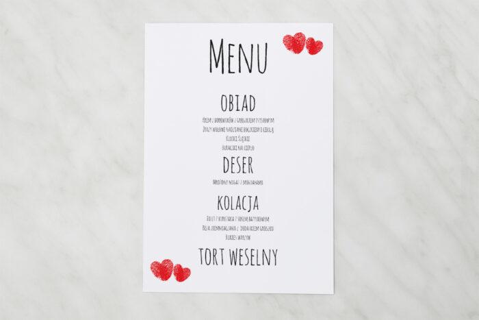 menu-weselne-pasujace-do-zaproszenia-eko-z-motywem-czerwonego-serca-papier-matowy