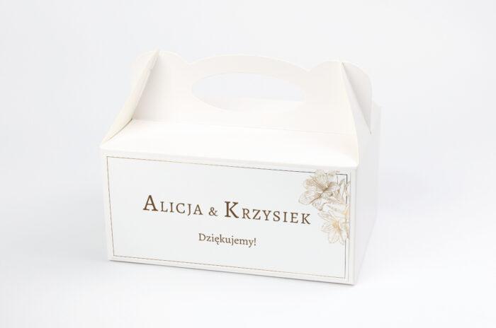 ozdobne-pudelko-na-ciasto-geometryczne-czarno-biale-delikatne-lilie-jasne-papier-satynowany-pudelko-