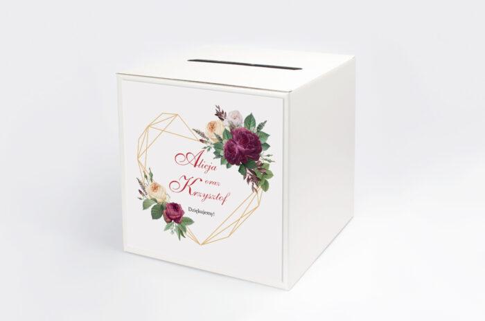 personalizowane-pudelko-na-koperty-do-zaproszenia-angielskie-roze-burgundowe-papier-satynowany-pudelko-