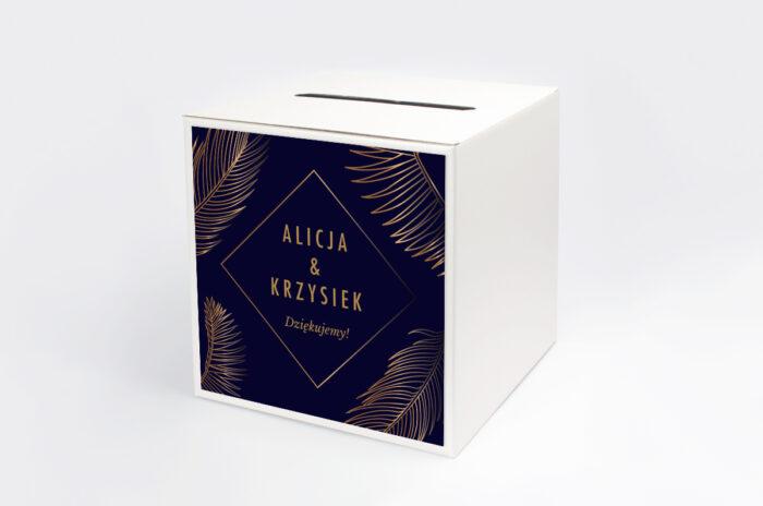 personalizowane-pudelko-na-koperty-geometryczne-nowoczesne-tropikalne-ciemne-papier-satynowany-pudelko-