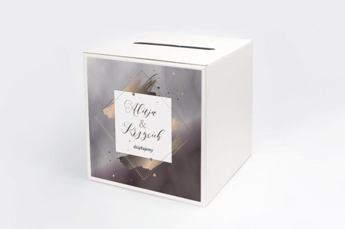 personalizowane-pudelko-na-koperty-geometryczne-nowoczesne-roz-zloto-ciemne-papier-satynowany-pudelko-