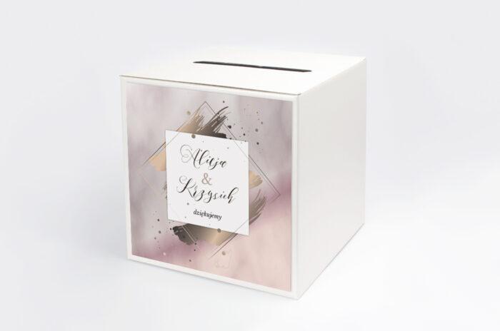 personalizowane-pudelko-na-koperty-geometryczne-nowoczesne-roz-zloto-jasne-papier-satynowany-pudelko-