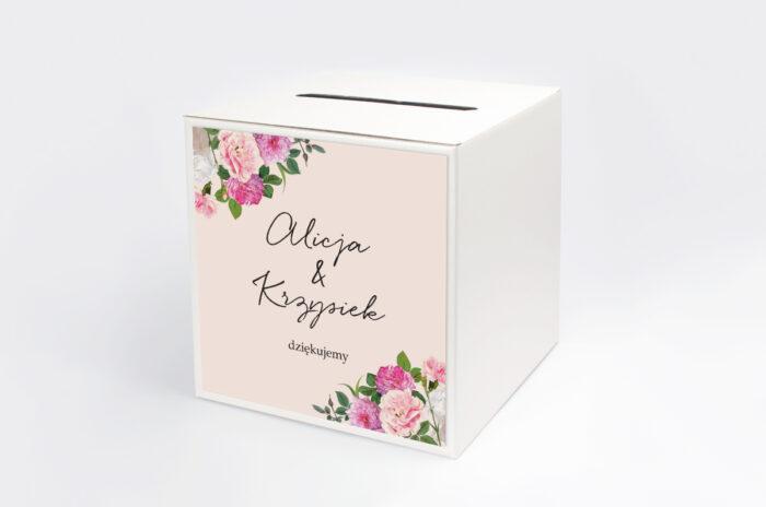 personalizowane-pudelko-na-koperty-eleganckie-kwiaty-biale-i-rozowe-piwonie-papier-satynowany-pudelko-