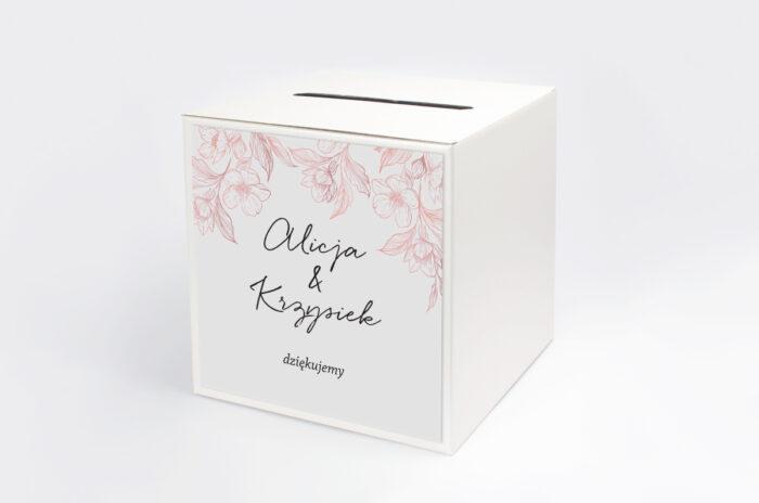personalizowane-pudelko-na-koperty-z-nawami-delikatne-kwiaty-pudrowe-papier-satynowany-pudelko-