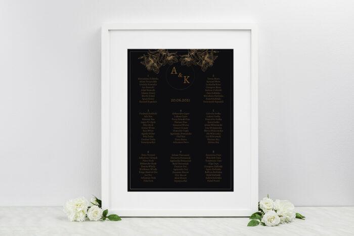 plan-stolow-weselnych-do-zaproszen-geometryczne-czarno-biale-delikatne-lilie-ciemne-dodatki-ramka-papier-matowy
