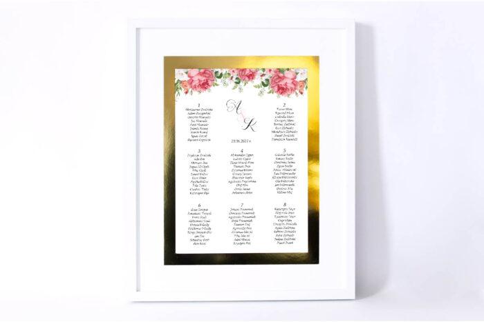 plan-stolow-weselnych-do-zaproszenia-ze-zlota-podkladka-koralowe-roze-dodatki-ramka-papier-satynowany-podkladki-