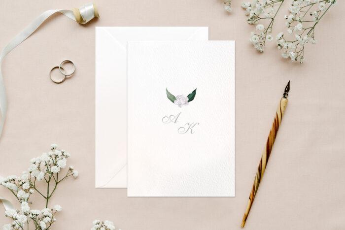 zaproszenie-slubne-biale-botaniczne-kwiaty-papier-matowy-350g-koperta-b6-szara-bez-wklejki