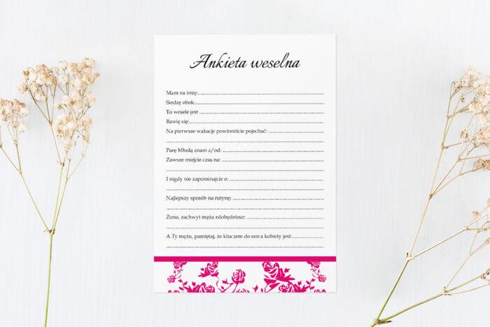 ankieta-weselna-pasujaca-do-zaproszenia-ornament-z-kokardka-rozowe-papier-satynowany