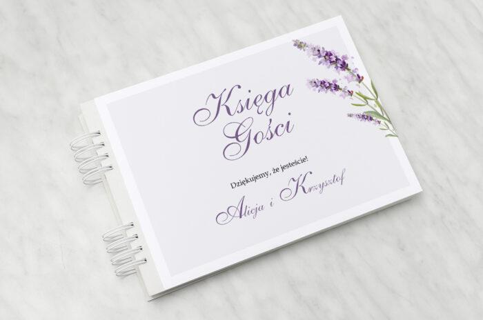 ksiega-gosci-minimalistyczne-z-kwiatem-lawenda-papier-matowy-dodatki-ksiega-gosci