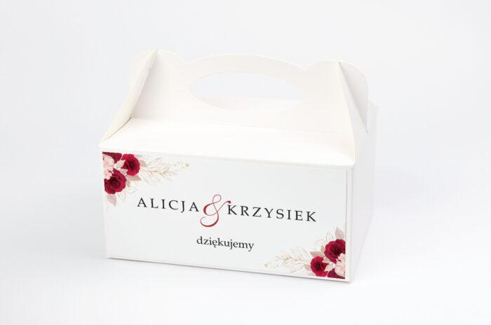 ozdobne-pudelko-na-ciasto-geometryczne-kwiaty-pasowe-roze-papier-satynowany-pudelko-