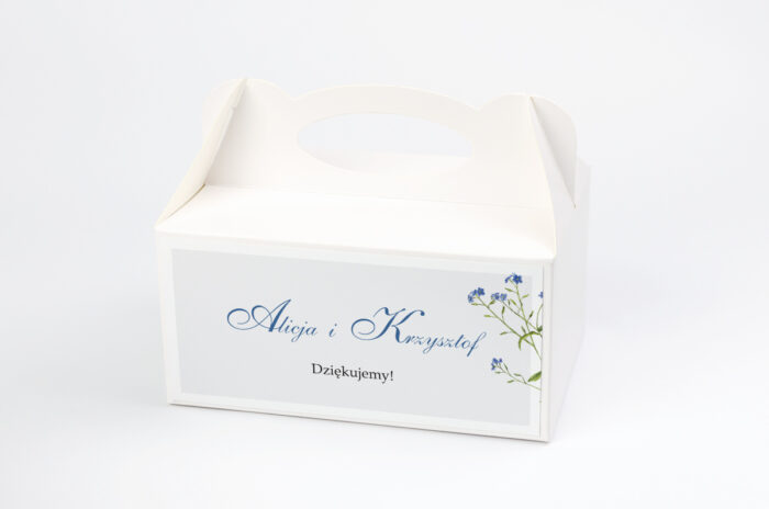 ozdobne-pudelko-na-ciasto-minimalistyczne-z-kwiatem-niezapominajka-papier-satynowany-pudelko-