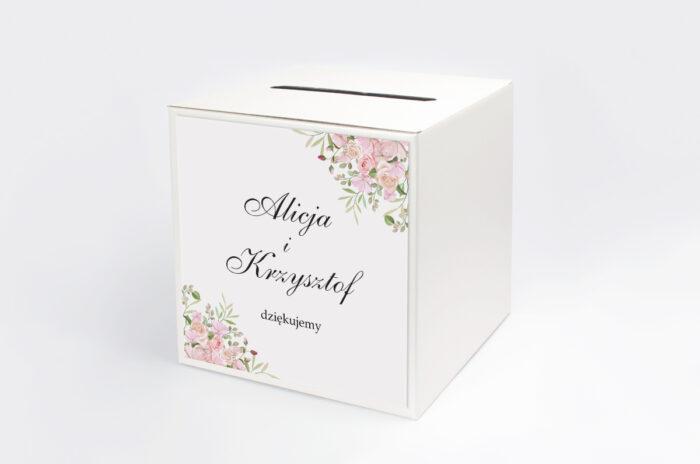 personalizowane-pudelko-na-koperty-kwiatowe-galazki-rozowe-roze-papier--pudelko-