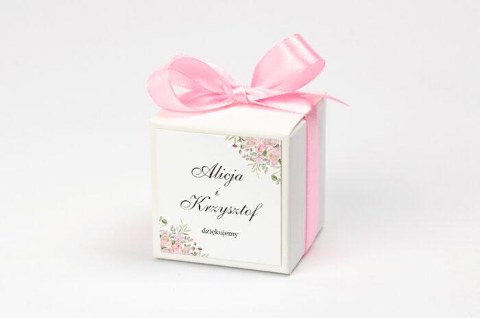 pudeleczko-z-personalizacja-kwiatowe-galazki-rozowe-roze-kokardka--krowki-bez-krowek-papier--pudelko-