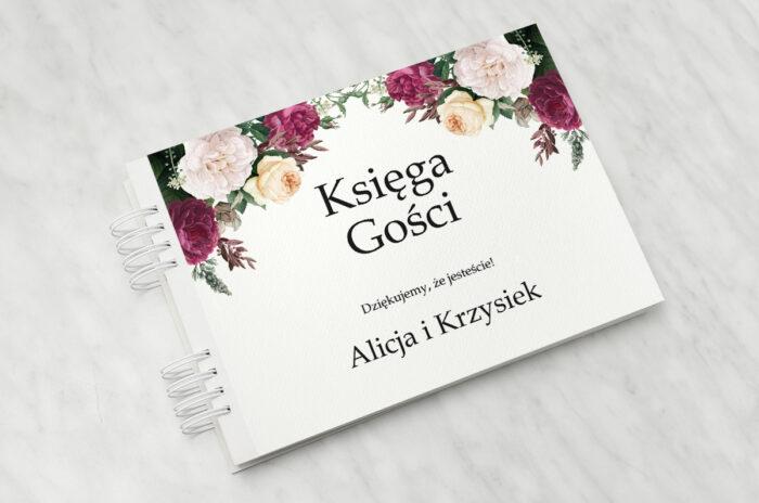 ksiega-gosci-do-zaproszenia-ze-sznurkiem-piwonie-papier-matowy-dodatki-ksiega-gosci