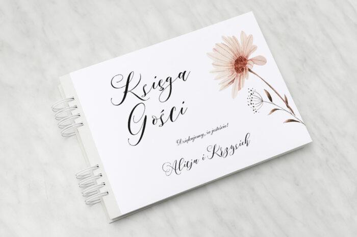 ksiega-gosci-slubnych-bukiet-ze-wstazka-margaretka-papier-matowy-dodatki-ksiega-gosci