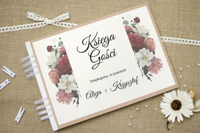 ksiega-gosci-slubnych-boho-eleganckie-czerwono-bialy-bukiet-podkladki-eco-do-ksiegi-gosci-dodatki-ksiega-gosci-papier-matowy