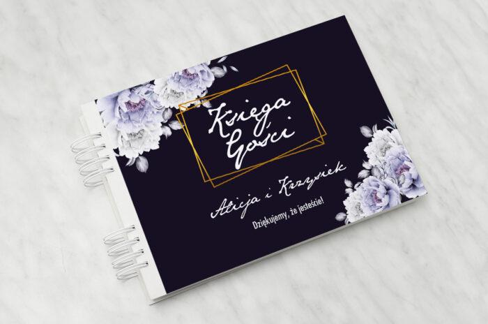 ksiega-gosci-slubnych-kontrastowe-z-kwiatami-niebieskie-roze-papier-matowy-dodatki-ksiega-gosci