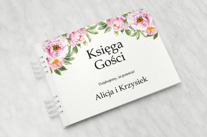 ksiega-gosci-do-zaproszenia-ze-sznurkiem-rozowe-piwonie-papier-matowy-dodatki-ksiega-gosci