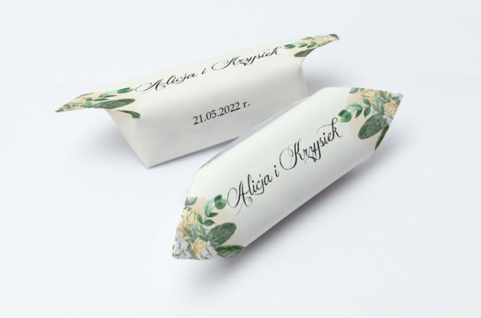 krowki-slubne-kwiatowe-galazki-bialo-zolty-bukiet-papier-papier60g