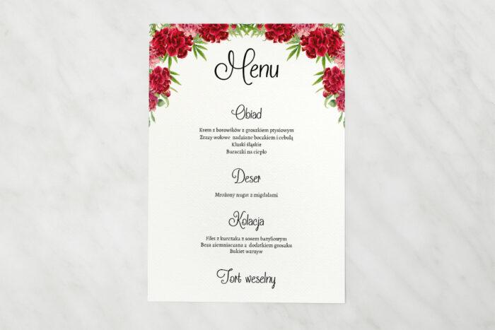 menu-weselne-do-zaproszenia-ze-zdjeciem-i-sznurkiem-czerwone-gozdziki-papier-matowy