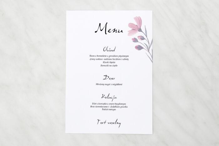 menu-weselne-pasujace-do-zaproszen-bukiet-ze-wstazka-delikatnie-rozowy-papier-matowy