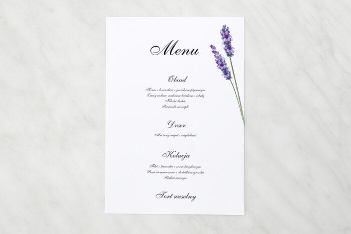 menu-weselne-pasujace-do-zaproszen-bukiet-ze-wstazka-lawenda-papier-matowy