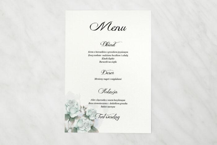 menu-weselne-kwiatowe-galazki-blekitne-roze-papier-satynowany
