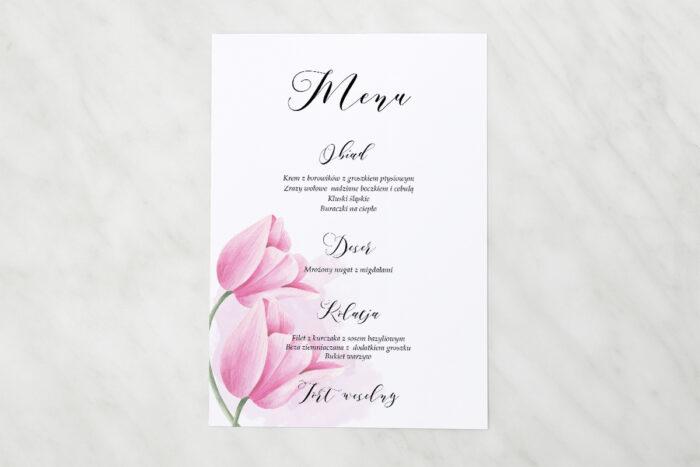 menu-weselne-namalowane-kwiaty-tulipanowe-papier-matowy
