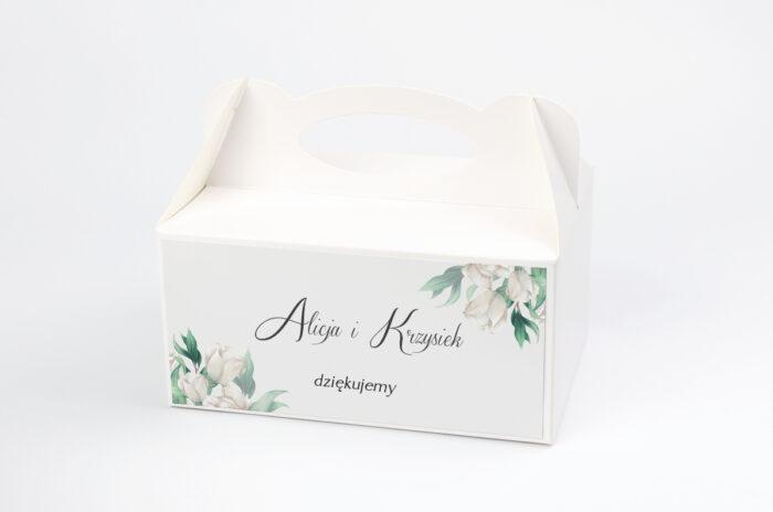 ozdobne-pudelko-na-ciasto-kwiatowe-galazki-biale-roze-papier-satynowany-pudelko-