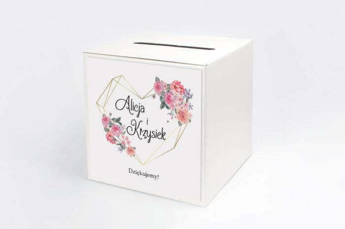 personalizowane-pudelko-na-koperty-do-zaproszenia-ze-zdjeciem-i-sznurkiem-rozowy-bukiet-w-sercu-papier-satynowany-pudelko-