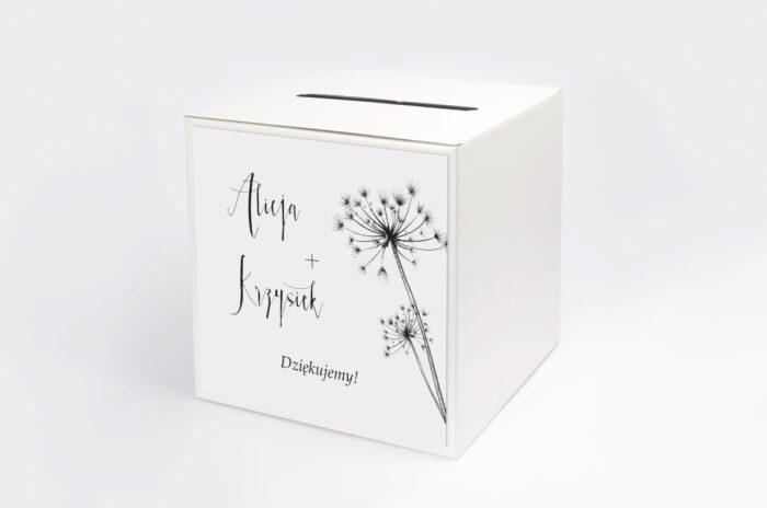 personalizowane-pudelko-na-koperty-bukiet-ze-wstazka-dmuchawce-papier-satynowany-pudelko-