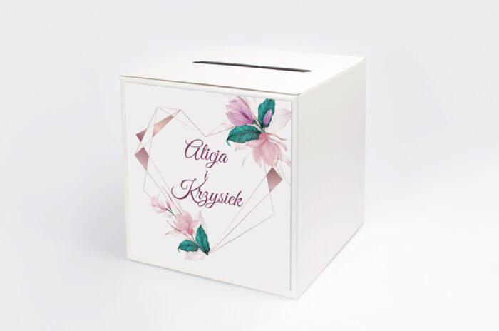 personalizowane-pudelko-na-koperty-geometryczne-serce-rozowe-kwiaty-papier-satynowany-pudelko-