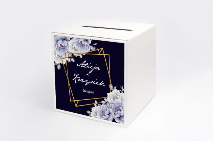 personalizowane-pudelko-na-koperty-kontrastowe-z-kwiatami-niebieskie-roze-papier-satynowany-pudelko-